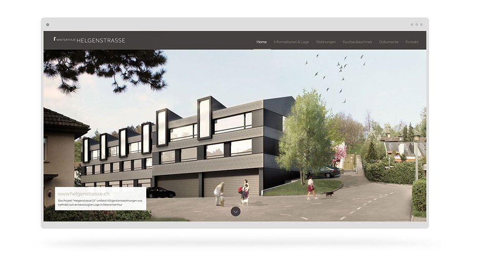 immobilien webdesign winterthur
