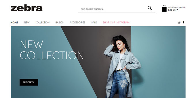 onlineshop design