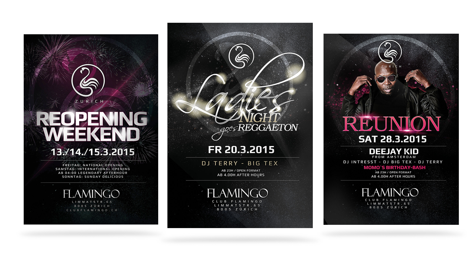 Flamingo Flyer Design