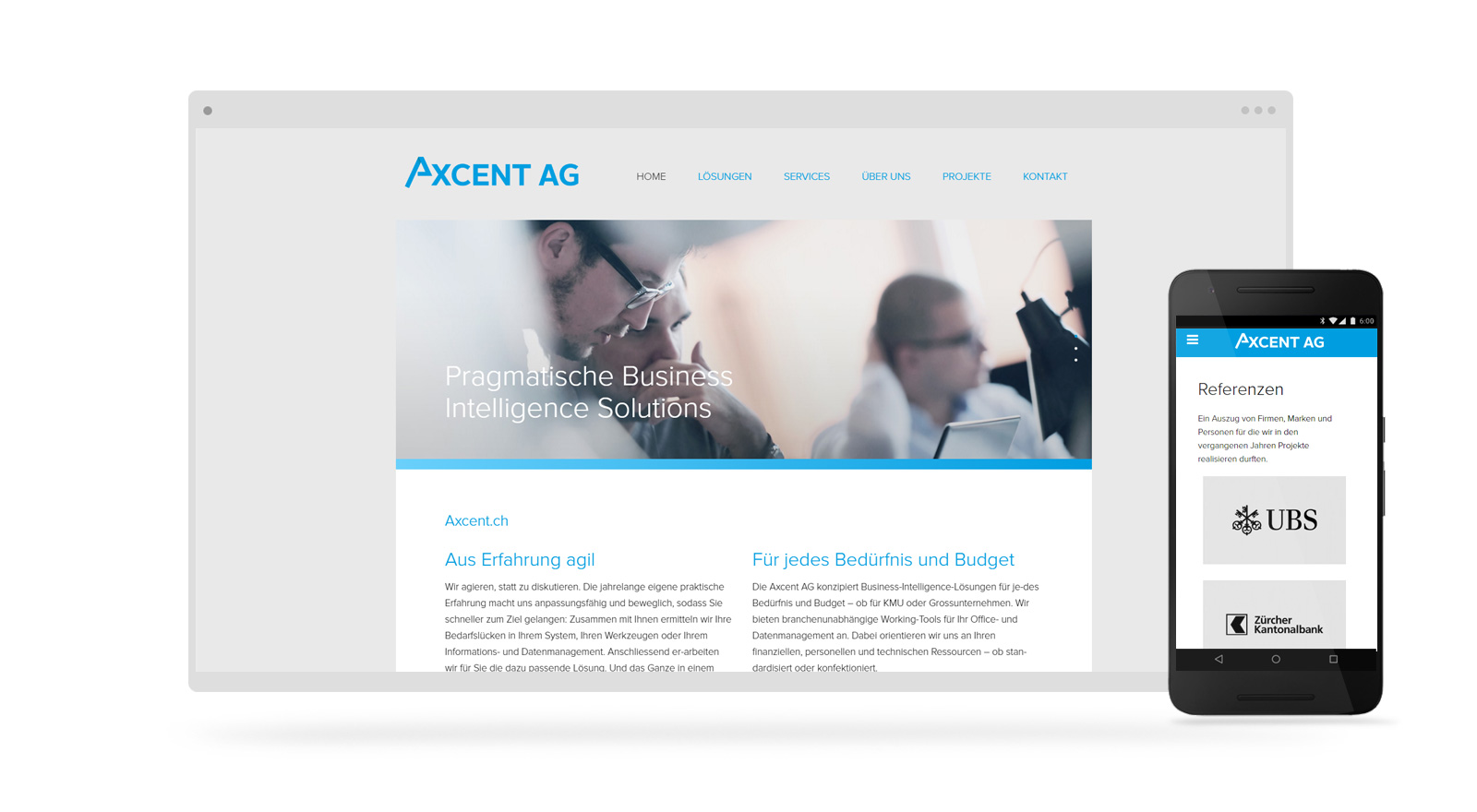 Firmen Website Webdesign