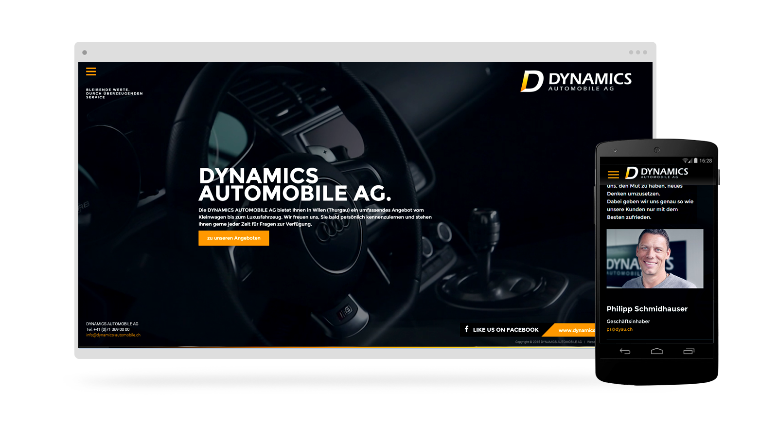 Automobile Garage Webdesign