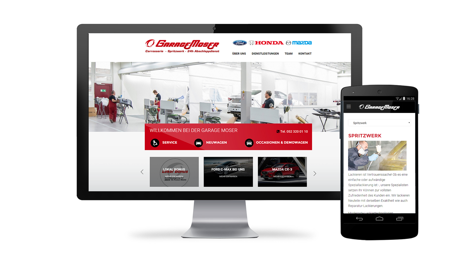 Garage Webdesign Winterthur