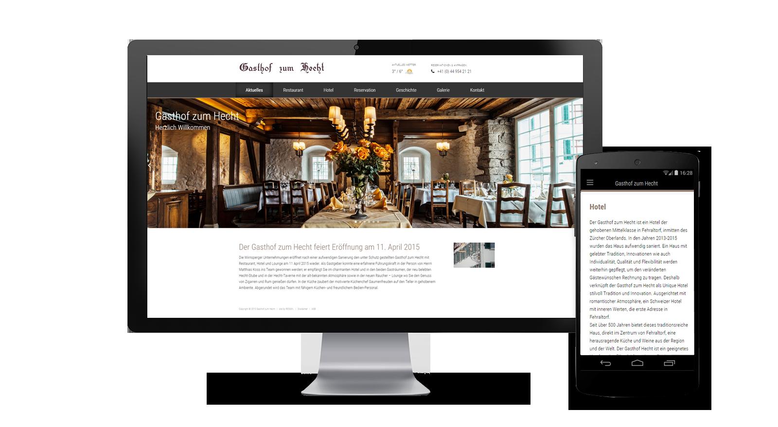 Resign Website F R Hotel Hecht In Fehraltorf