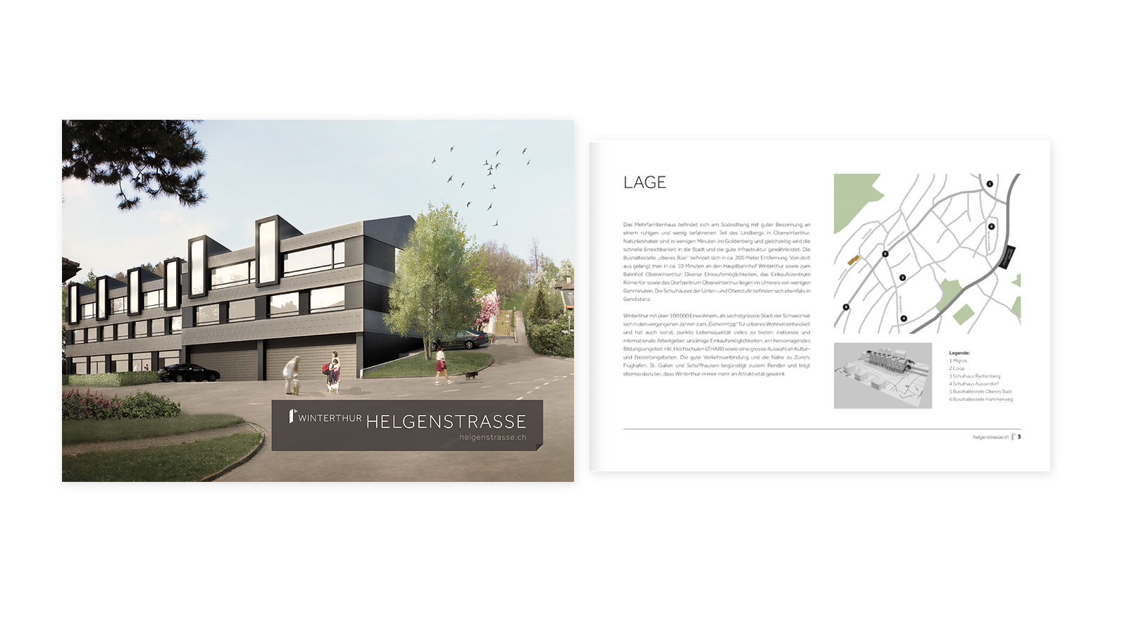 Immobilien Dokumentation Design